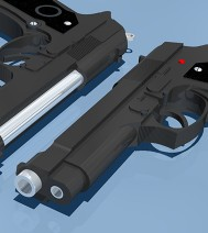 3d-design - Baretta 9MM Pistool