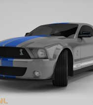 Ford Mustang GT500 | Rainman.nl | 3D-Design