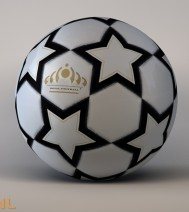 Soccerball star panels | Rainman.nl | 3D-Design