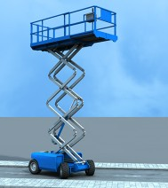 3d-animation - Scissor Lift
