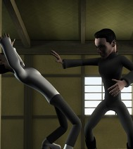 3d-animatie - The Matrix cartoon