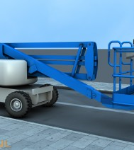 Boom Lift | Rainman.nl | 3D-Animation