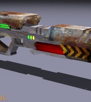 Concept Gun | Rainman.nl | 3D-Animation