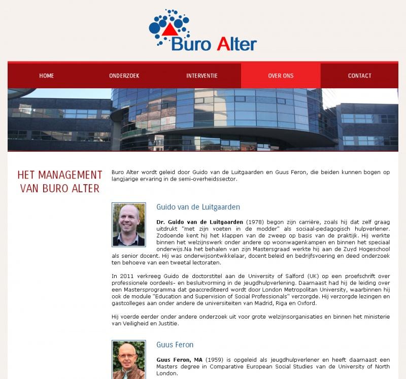 Buro alter webdevelopment webdesign for Buro service