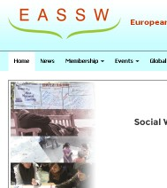 Webdevelopment - European Association of Schools of Social Work
