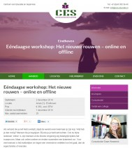 Centrum voor Educatie en Supervisie | Rainman.nl | Webdevelopment & Webdesign