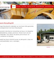 Van Doorn Recycling BV | Rainman.nl | Webdevelopment & Webdesign